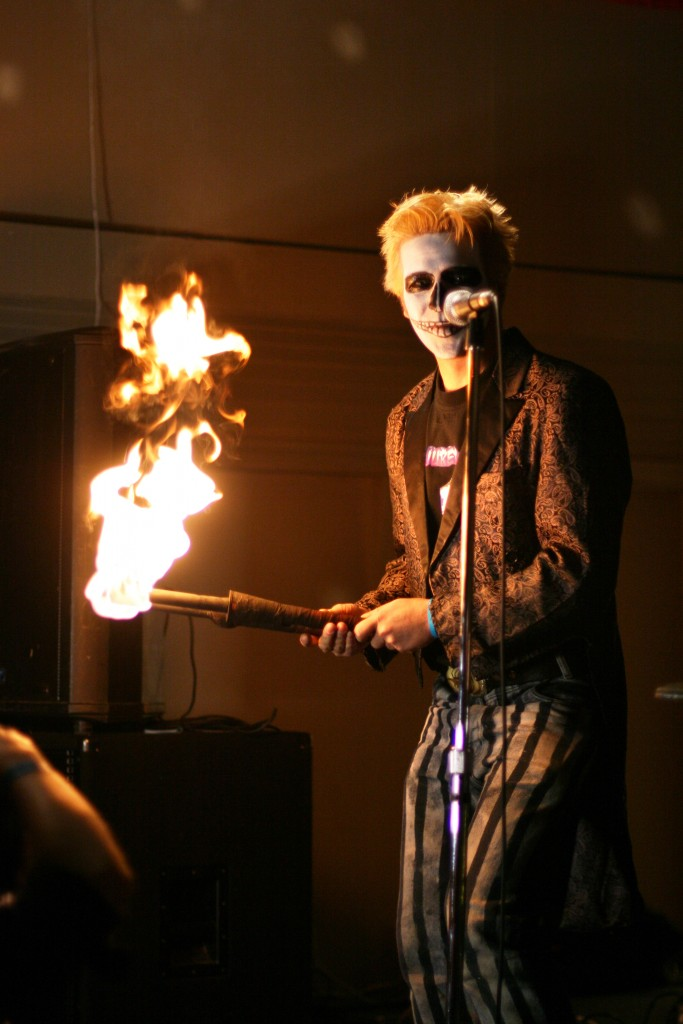 fire circus tricks