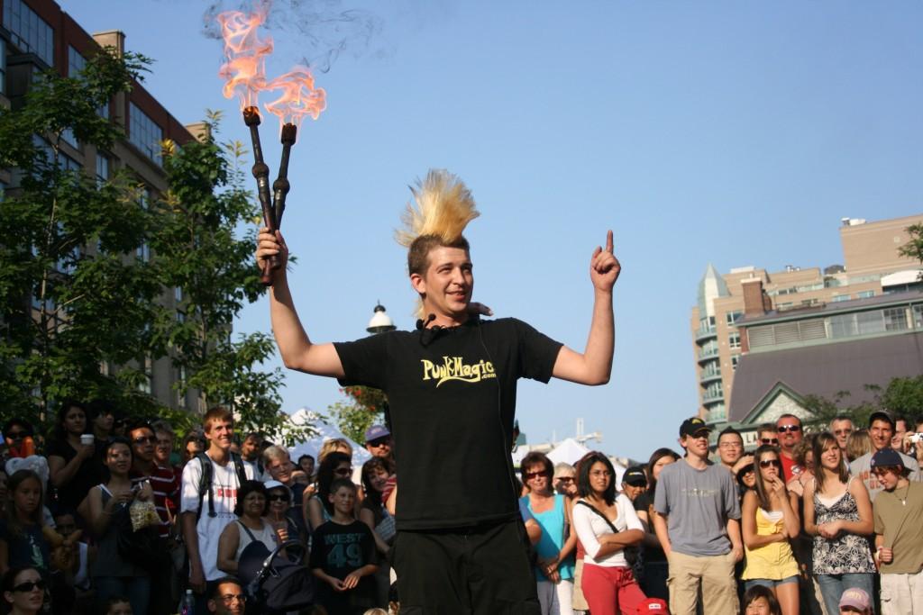 Toronto busker fest