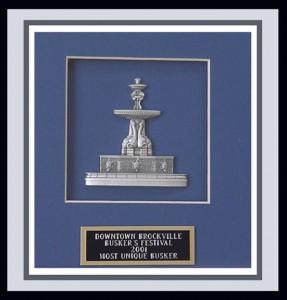 Busking award:)