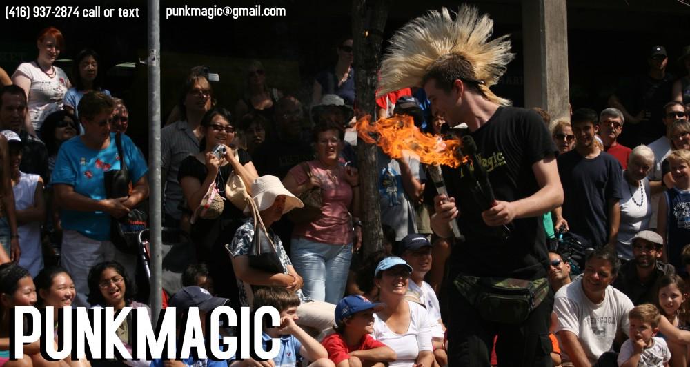 Dylan Studebaker the Punk Magician