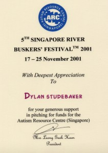 Singapore Busker festival
